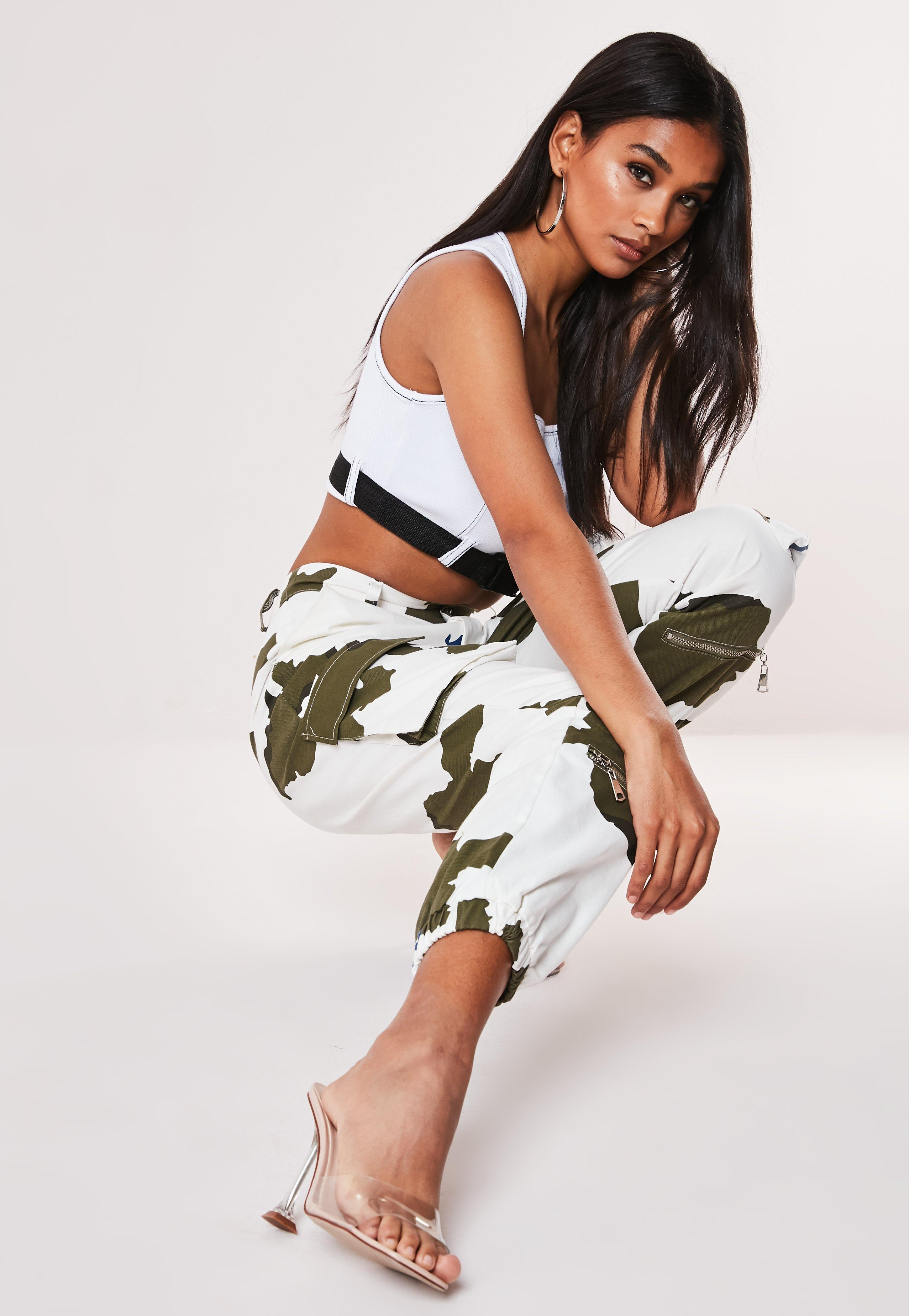 dfc33e86 Camo Trousers | Cargo Trousers & Camo Pants – Missguided