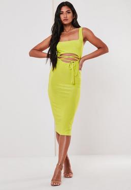 9120c82bd40 Midi Dresses UK | Knee Length Dresses | Missguided