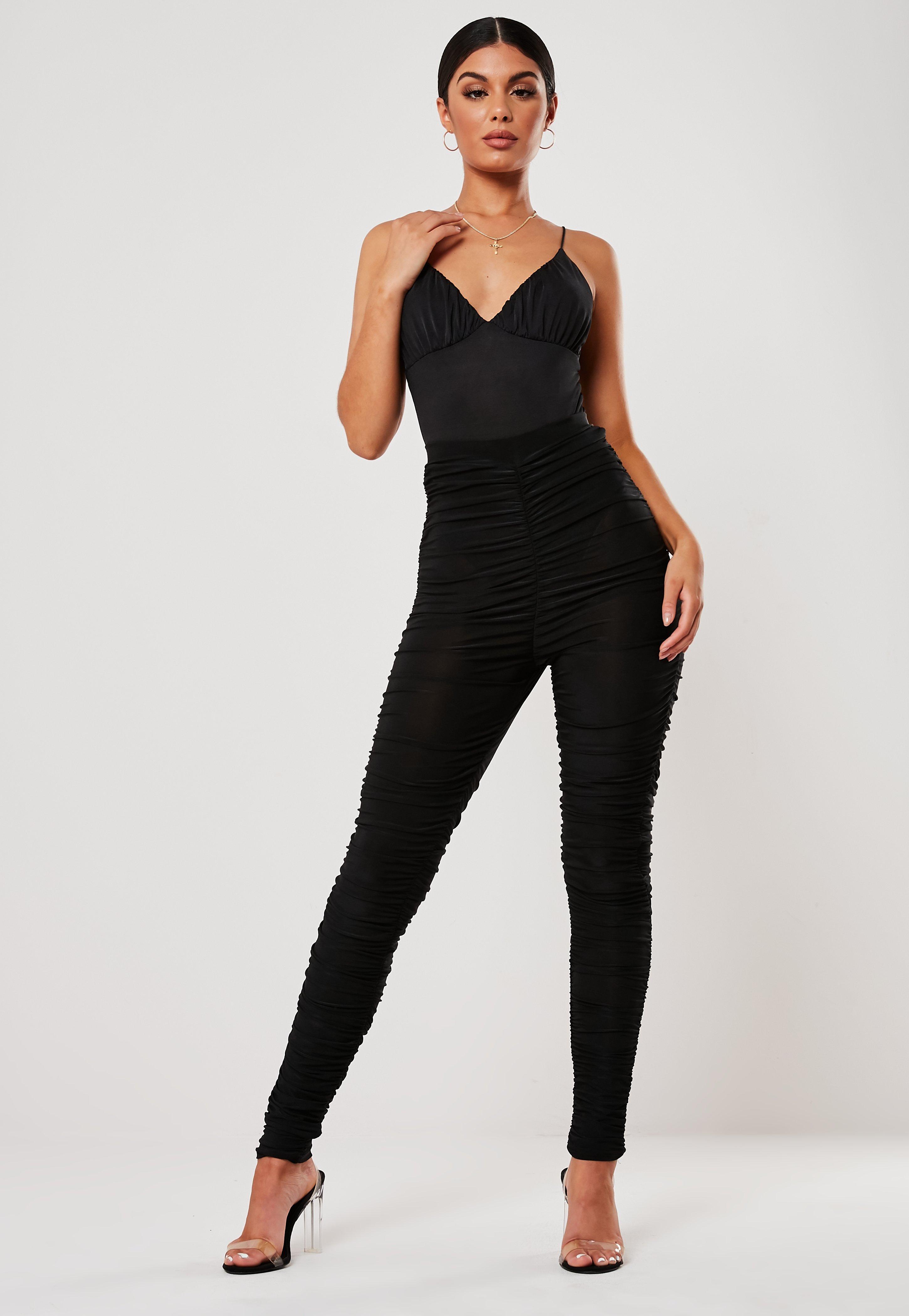 4dd579a577c698 High Waisted Leggings - Leggings - Clothing