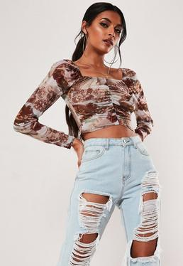 561485fdd0ce93 Crop Tops - Women's Cropped & Short Tops | Missguided