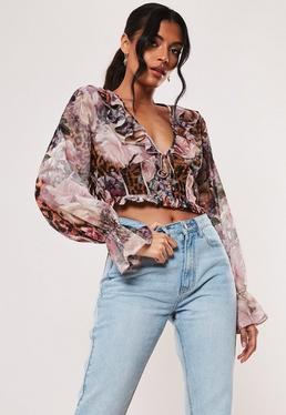 5b34c6bf06d Going Out Tops | Women's Evening & Party Tops - Missguided