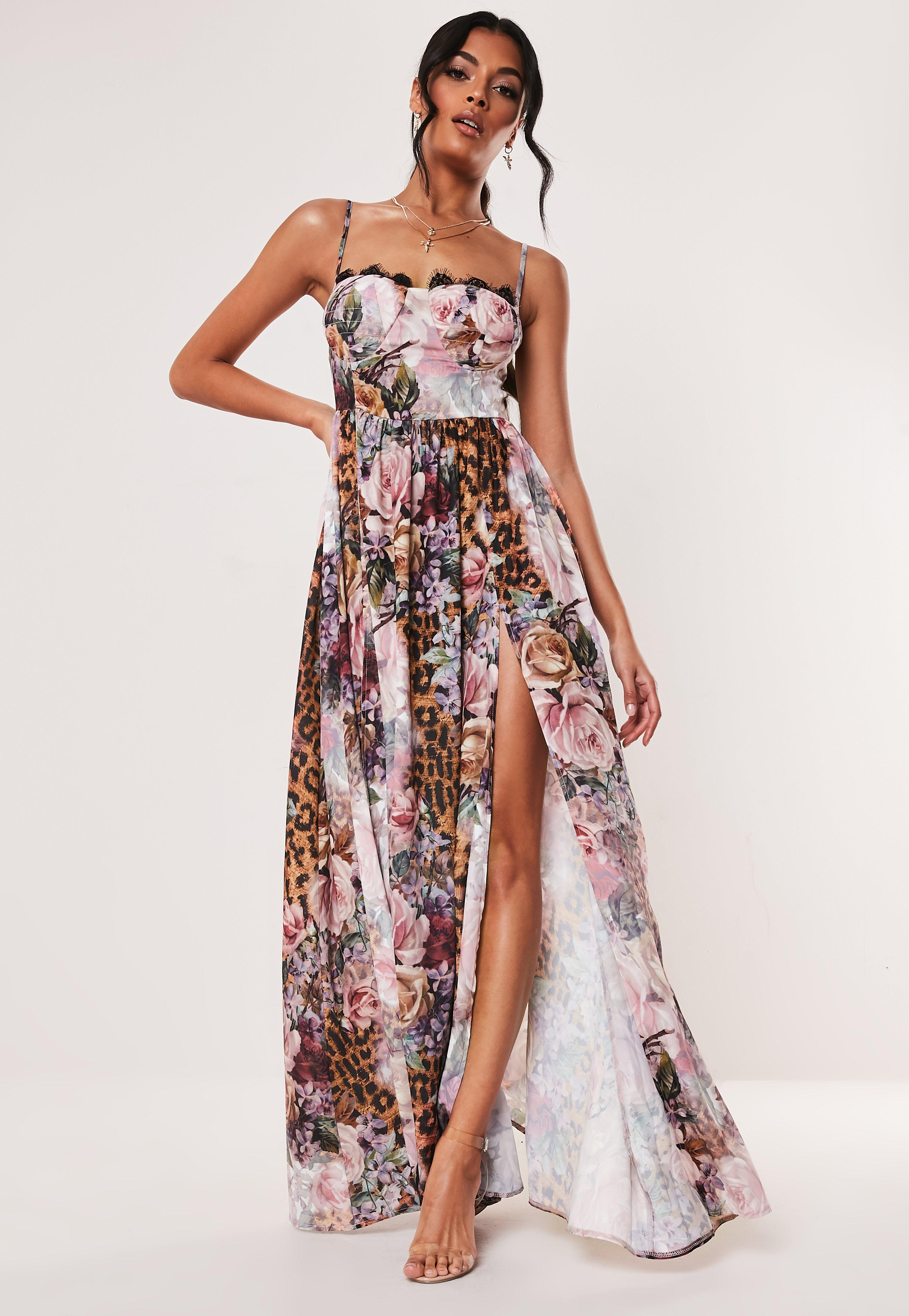 97803e82ad Maxi Dresses | Long & Flowy Dresses - Missguided