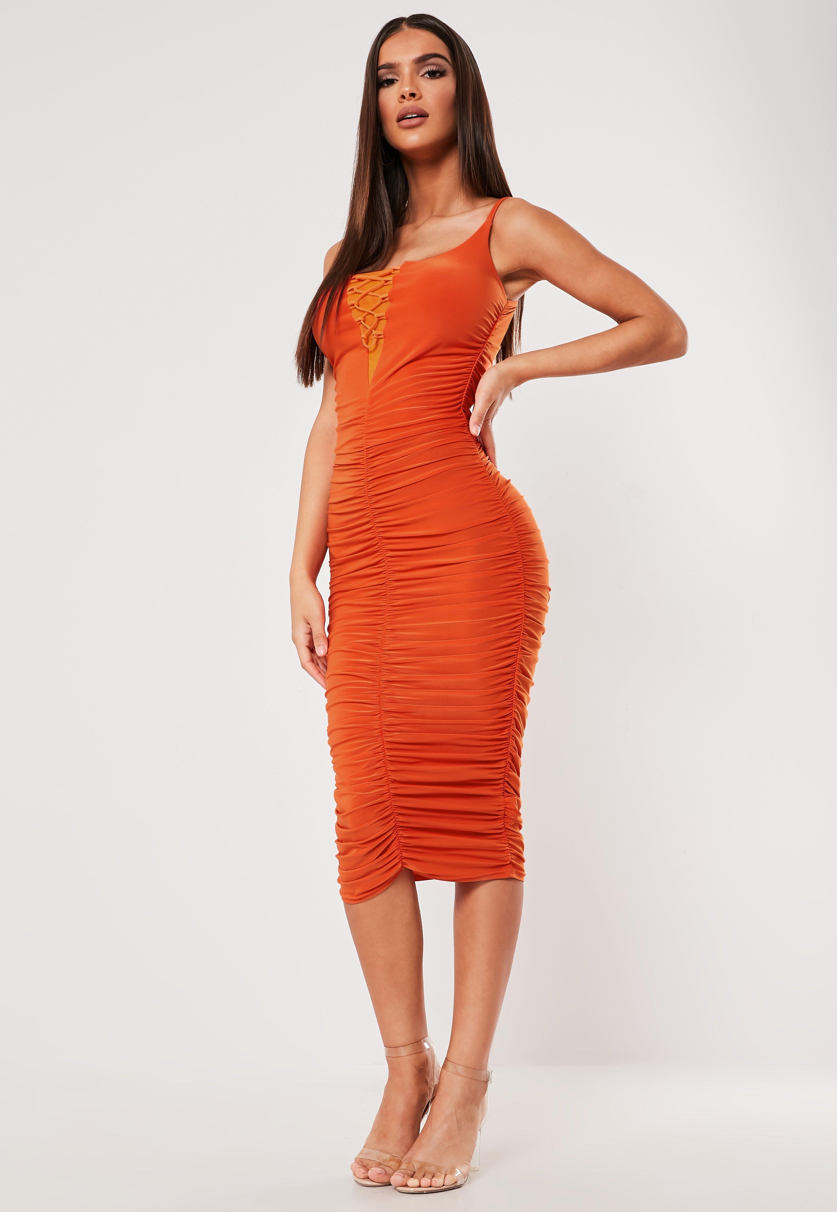 599e4402f052dc Midi Dresses   Knee Length Dresses - Missguided