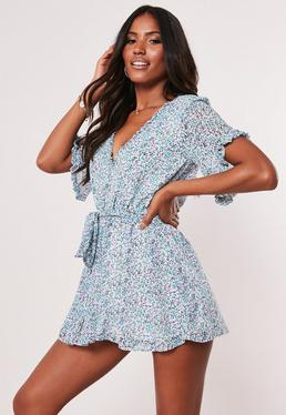 550304e8e84 Rompers for Women - off the Shoulder Rompers 2019 | Missguided