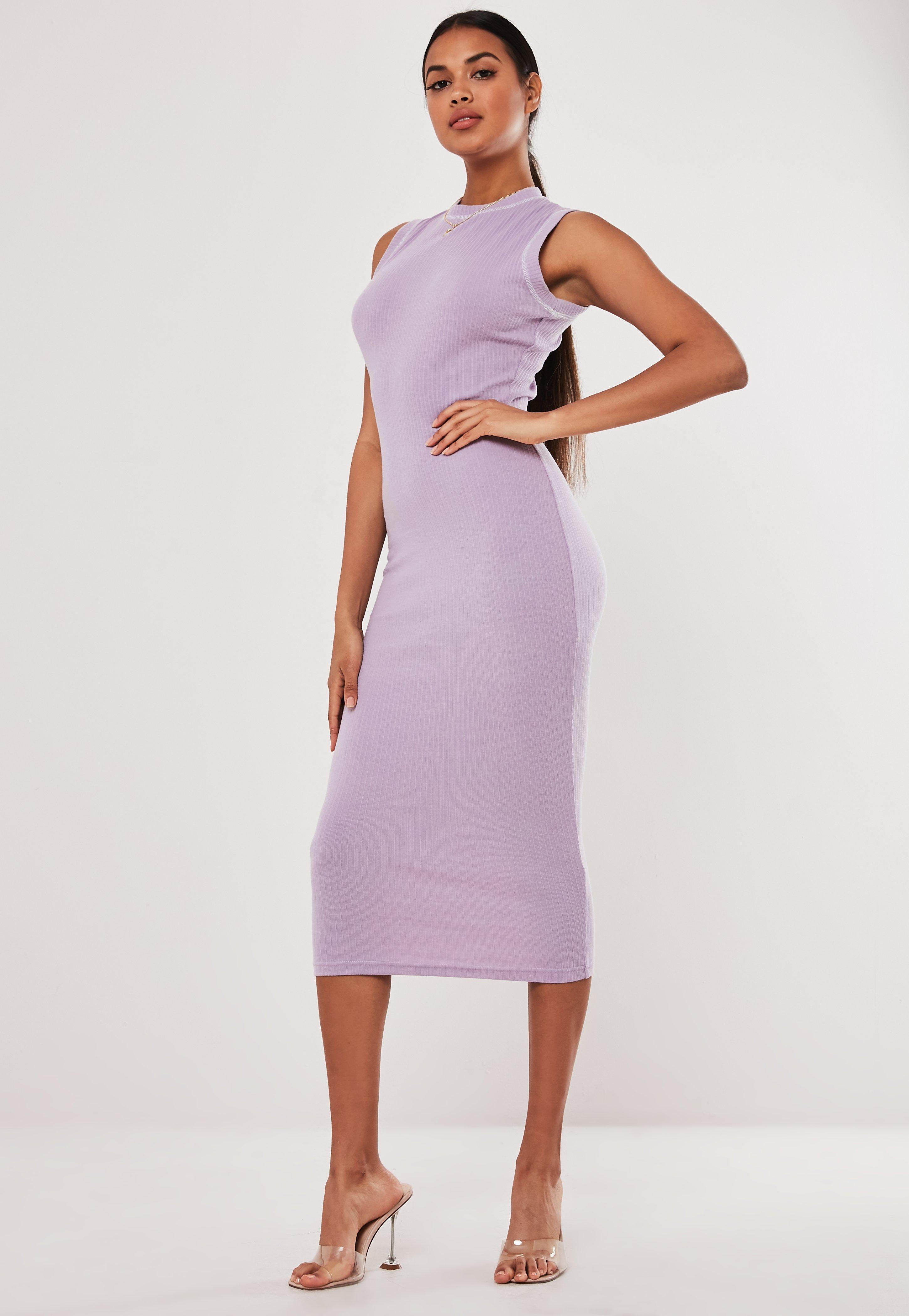 daeece0853d Purple Dresses | Mauve & Lilac Dresses - Missguided