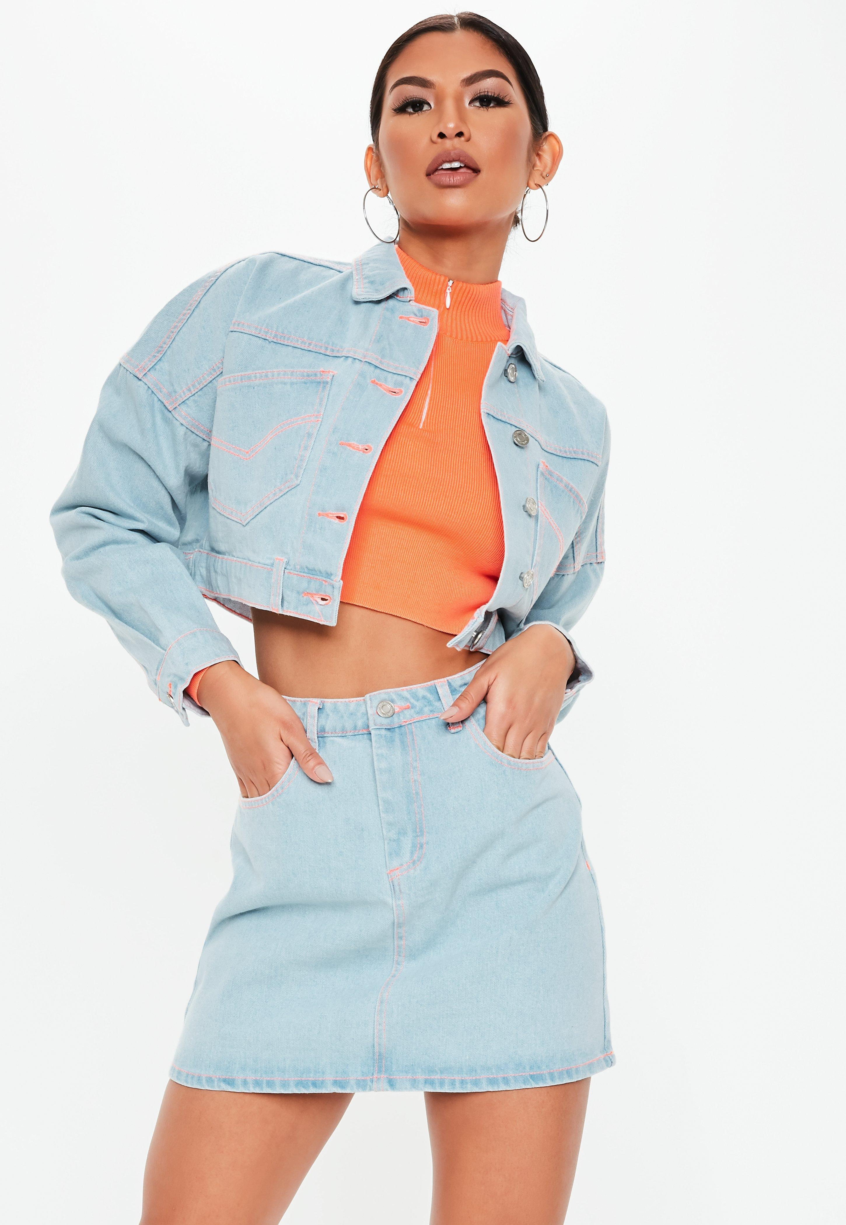 4fba693f270 Denim - Women s Denim Clothing - Denim Jeans   Dress - Missguided