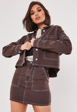beaf75eb4cc Denim Jackets | Oversized Denim Jackets for Women - Missguided