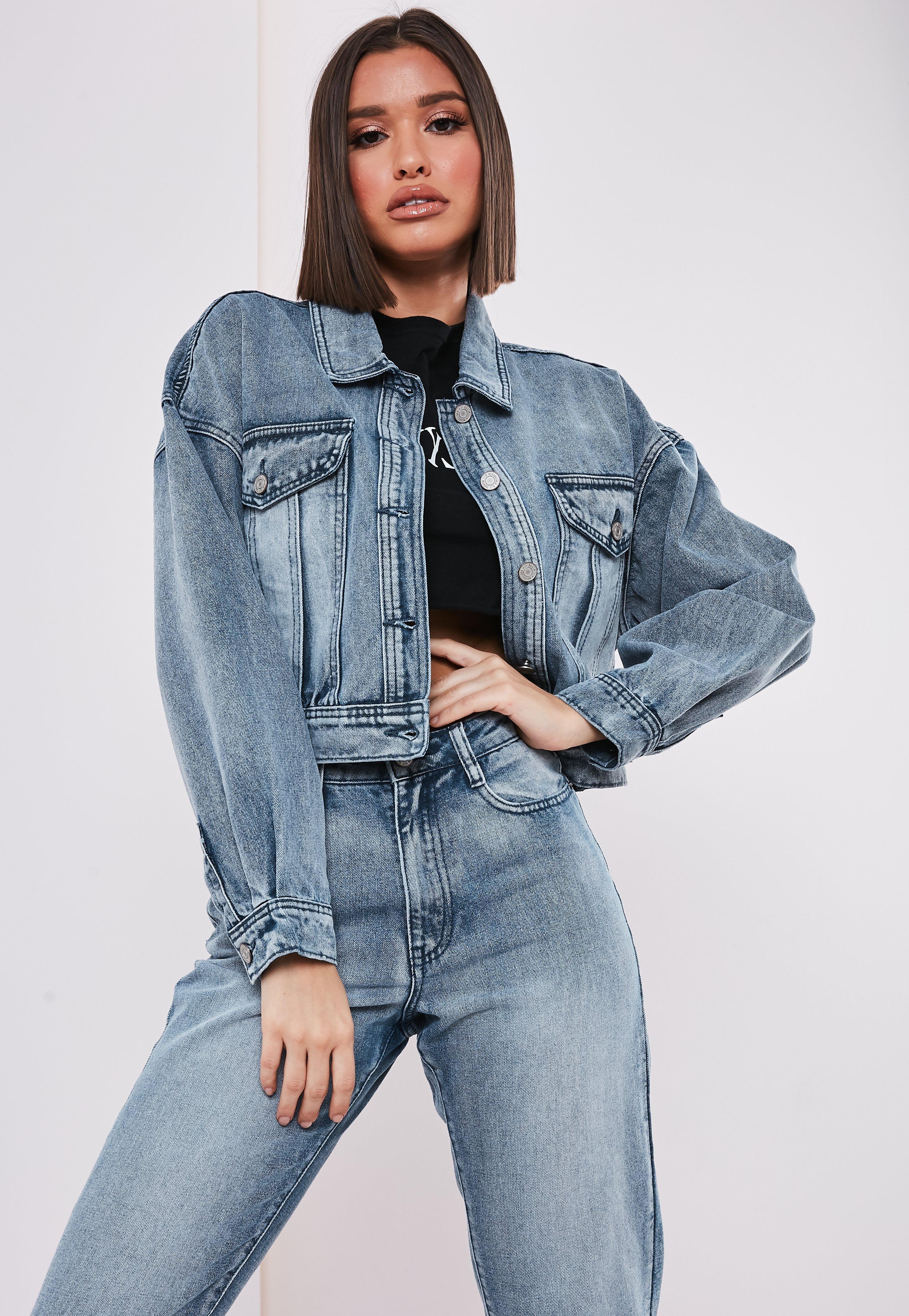 0cab93e39a3 Women's Denim Jackets | Cropped Denim Jackets | Missguided