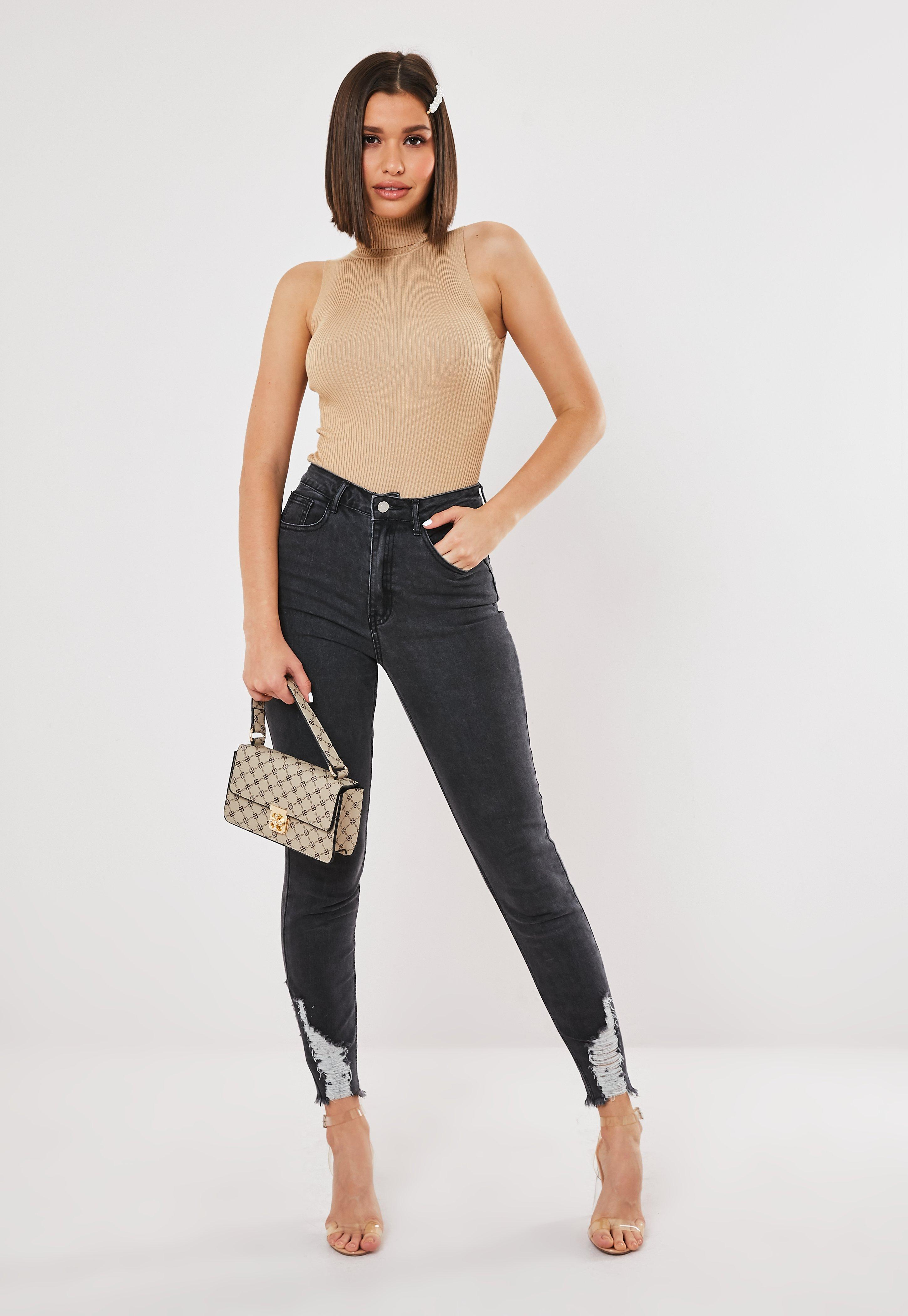 7a4c98511e254 High Waisted Jeans | High Rise Jeans - Missguided