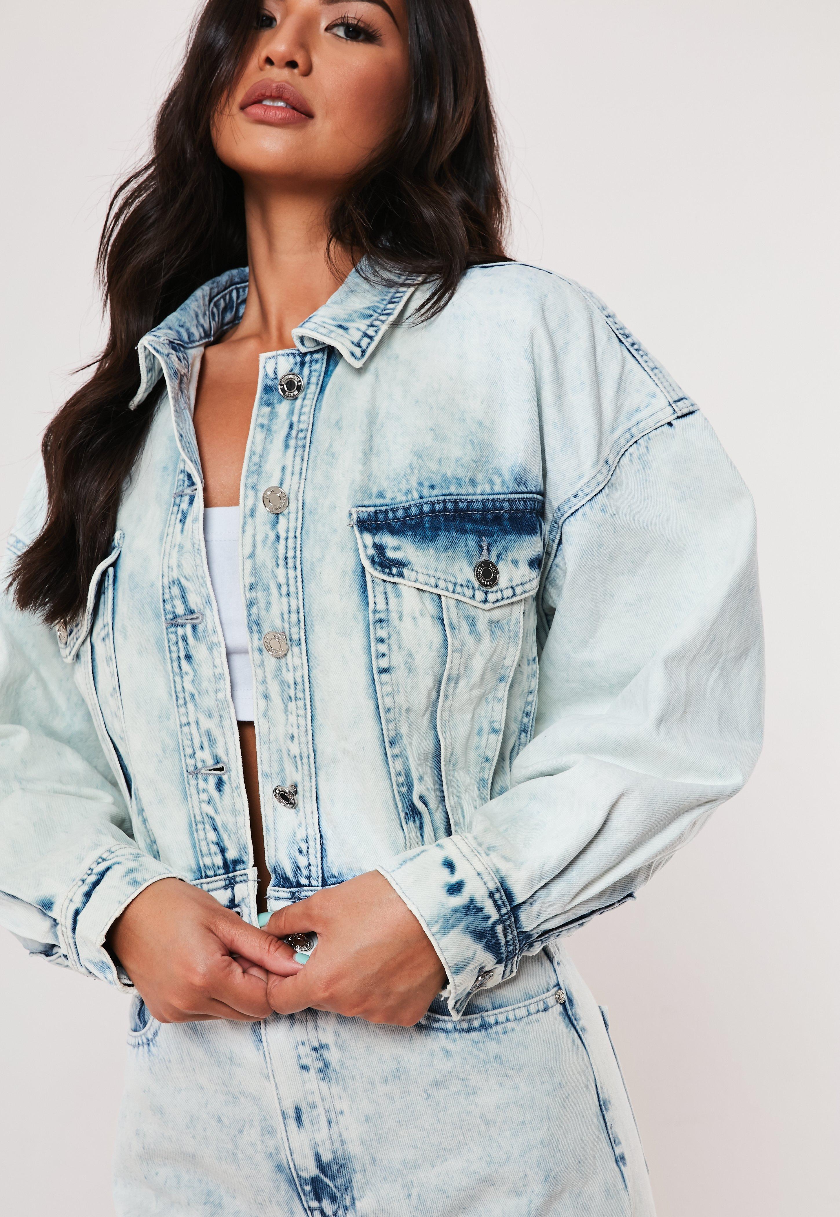 538e26f35dc Women's Denim Jackets | Cropped Denim Jackets | Missguided