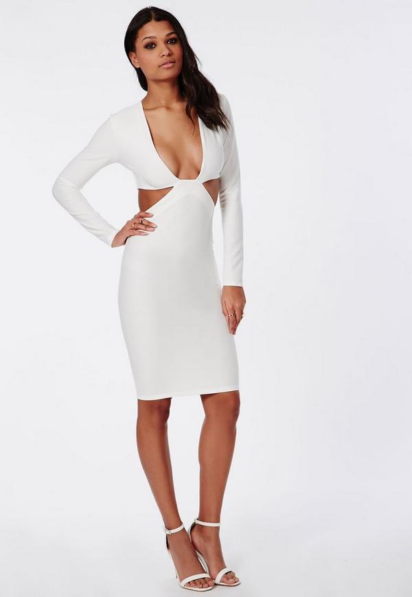 Looks - Sleeve Long cut out dress video
