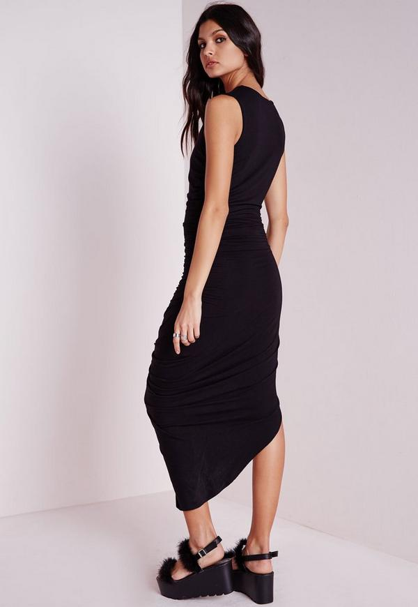 For example, black and white wrap dresses for women, like this one (above) would be more appropriate than a sizzling red one, especially if you work in a conservative type of office like law or finance.