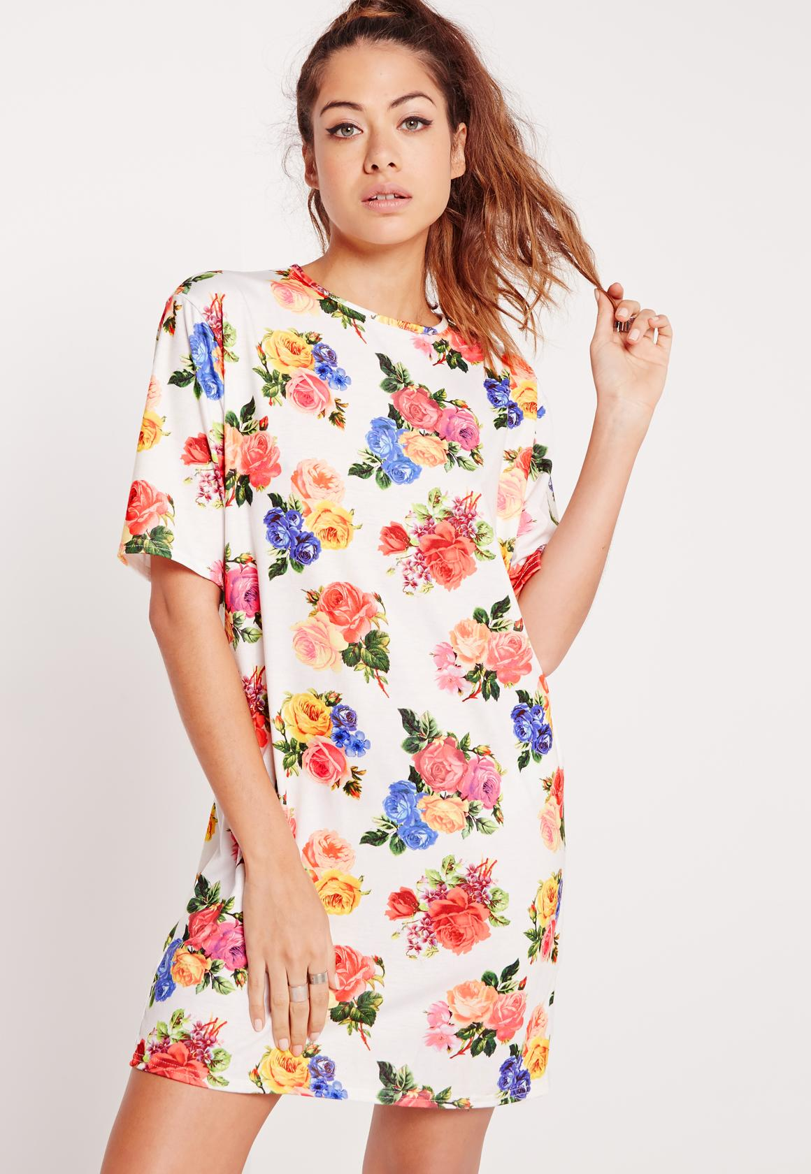Missguided Floral Print Shirt Dress Free Shipping Big Discount Lowest Price Outlet Amazon With Paypal Cheap Online Best Wholesale Cheap Price nMeU8ehHJa