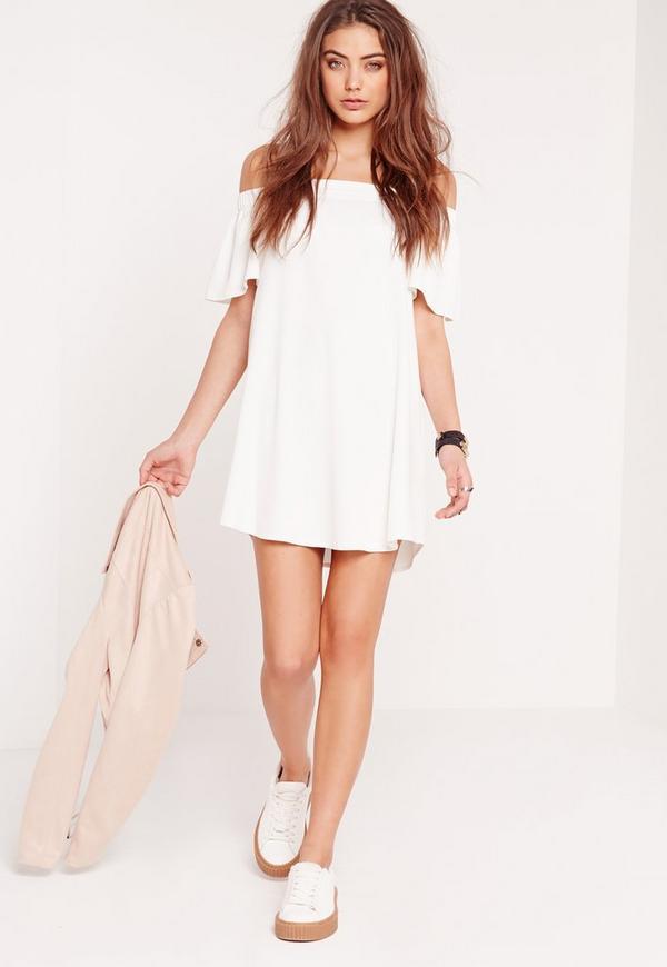 a0f191f3625a Bardot Shift Dress White