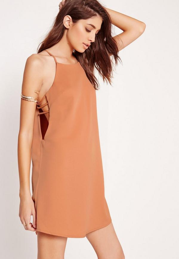 Open Side Dress Nude