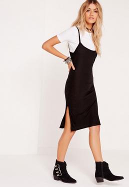 2-in-1 Dress Black