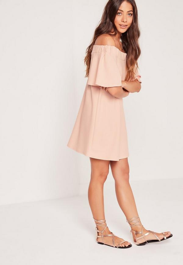Bardot Swing Dress Pink