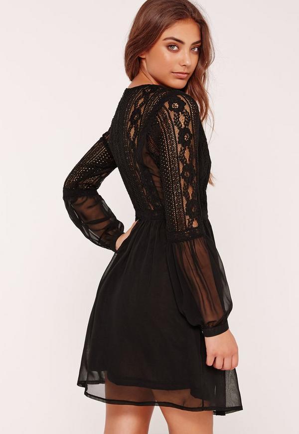 Petite robe noire patineuse