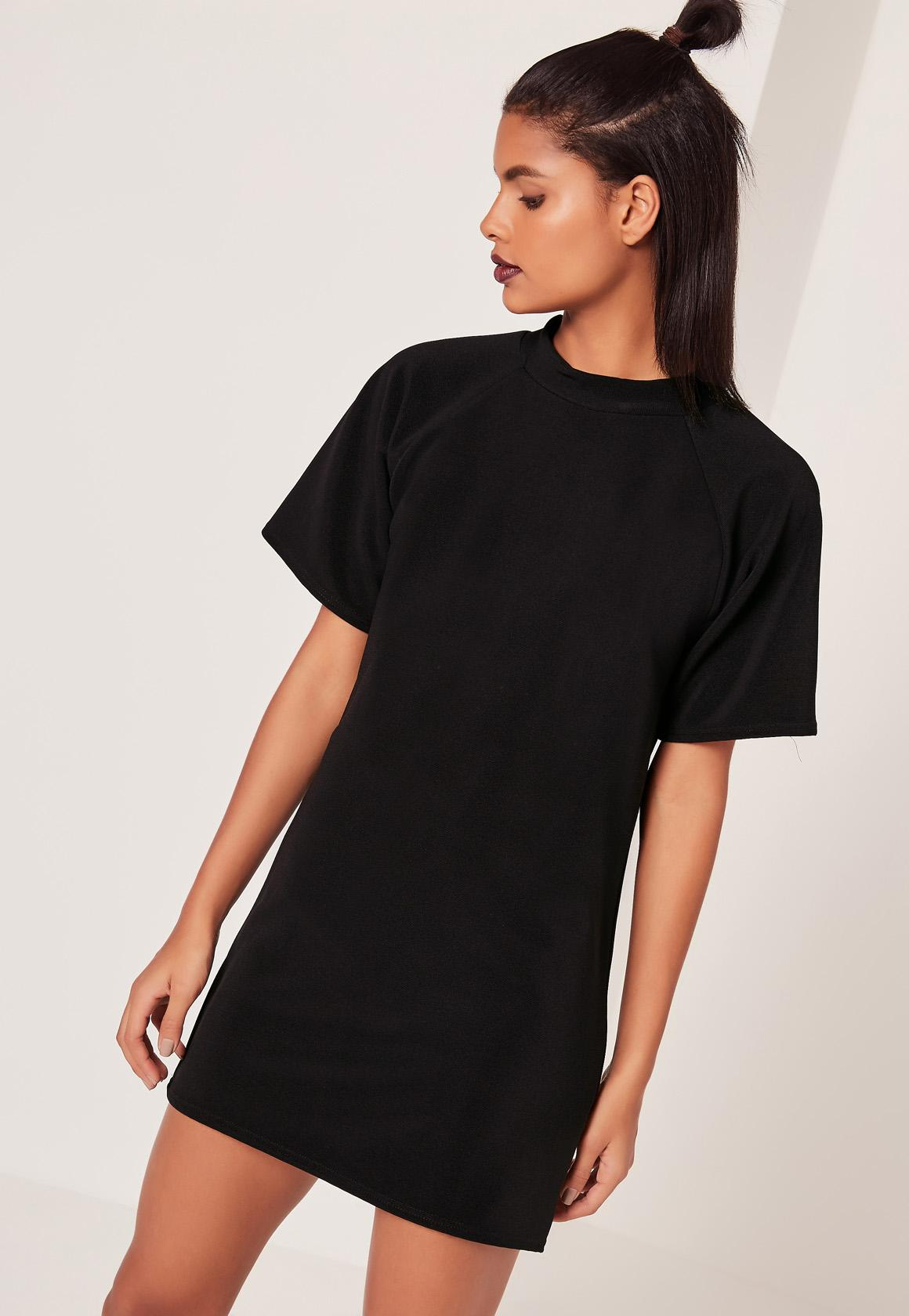 Kleid schwarz tshirt