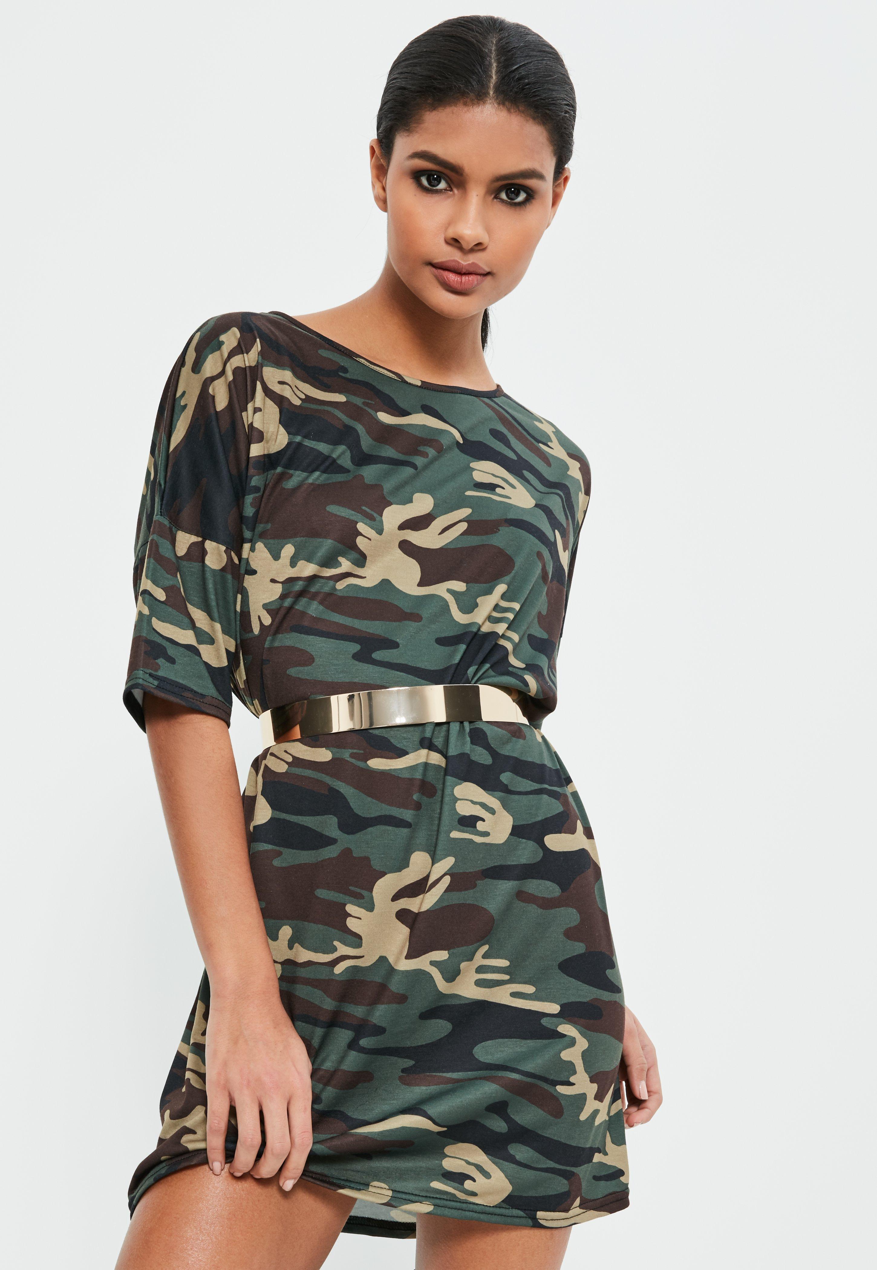 T-Shirt Dresses   Women's Print, Mesh & Logo - Missguided