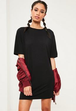 Robe T-shirt noire