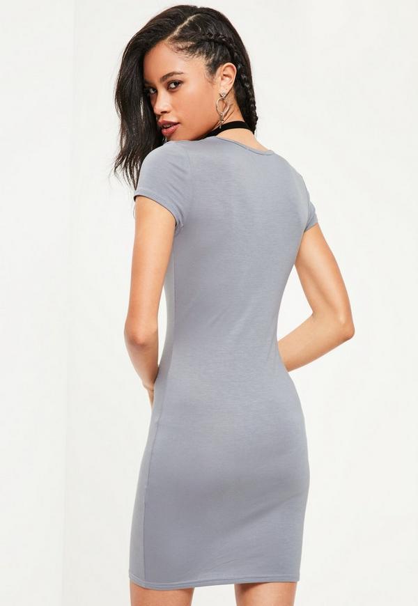 Joondalup zara grey bodycon dress online panties
