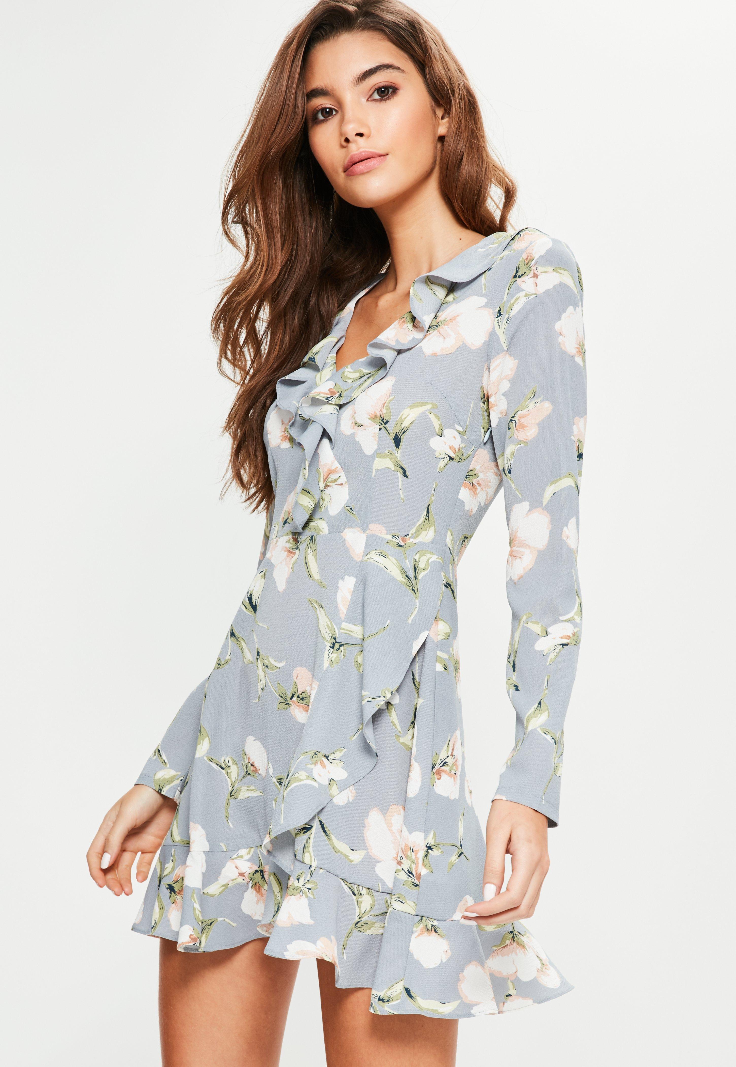 Blaue Kleider | Blaue Kleider online kaufen - Missguided DE