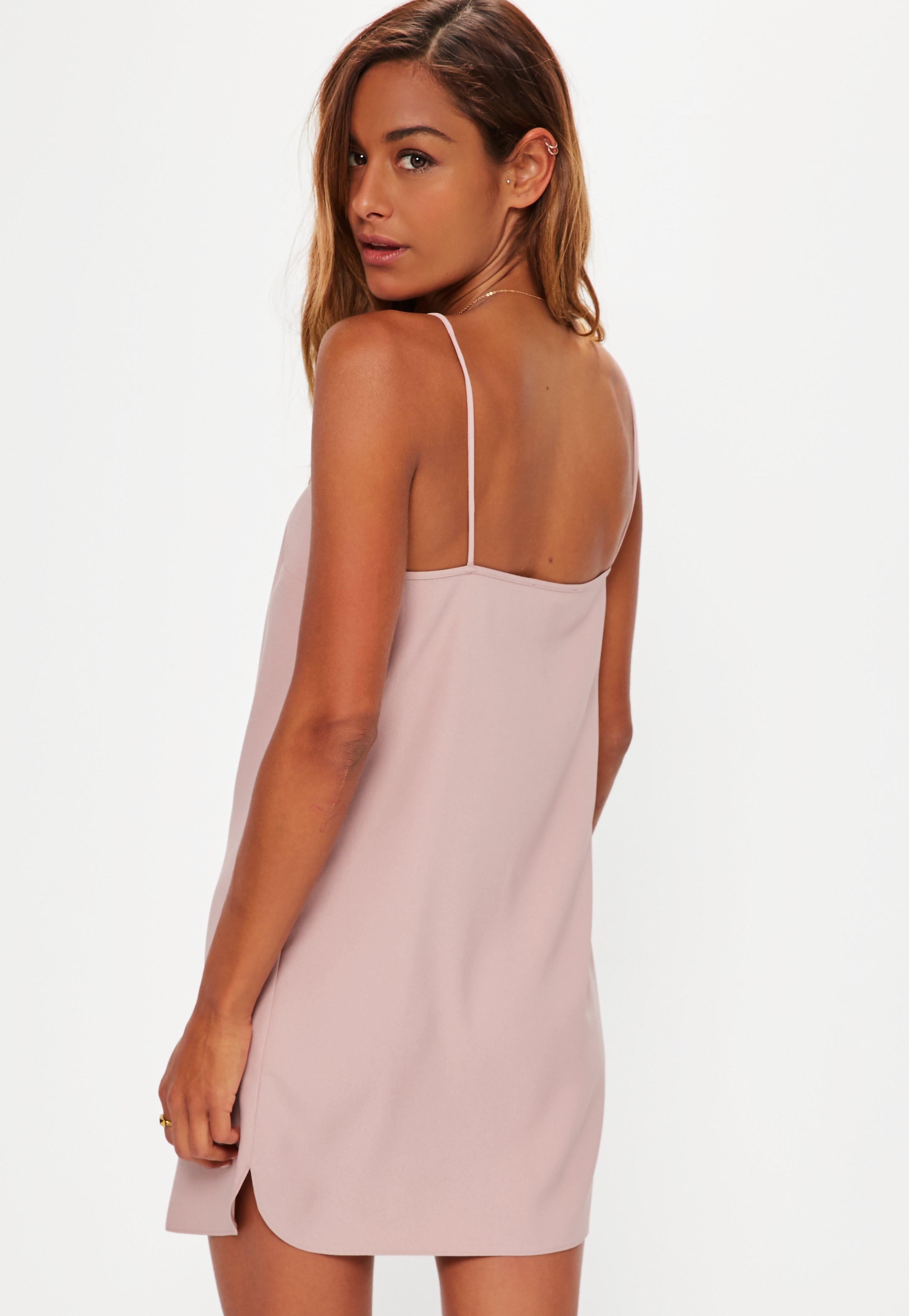 Missguided Cami Shift Dress 2018 Cheap Online Discount Prices 6YjN8