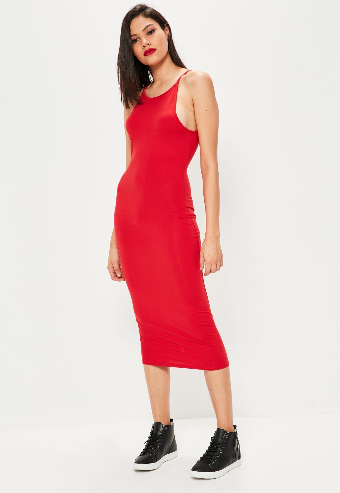 Kleid figurbetont rot | Trendige Kleider für die Saison 2018