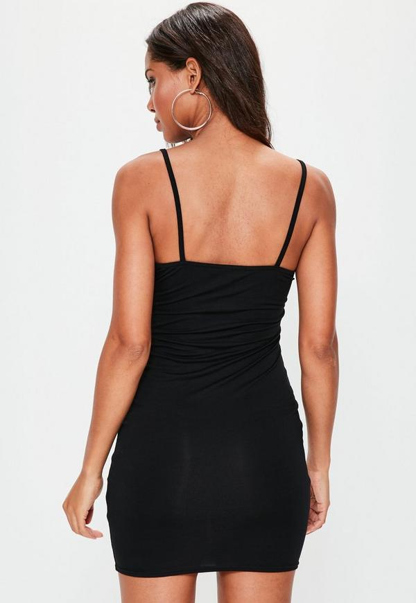Plus size turtleneck bodycon dress
