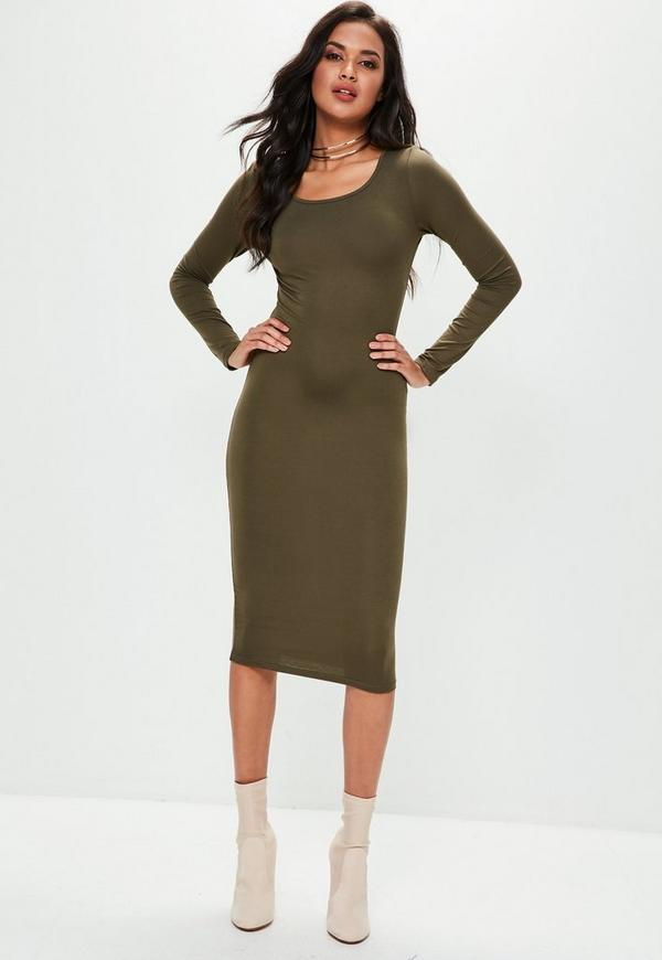 Midi Dresses For classy ladies looking for a modern update to the mini dress, longer length hemlines will be in in a big way this spring and summer. These longer hemlines have been on the style radar in the form of maxi dresses for a few years now, but midi dresses .