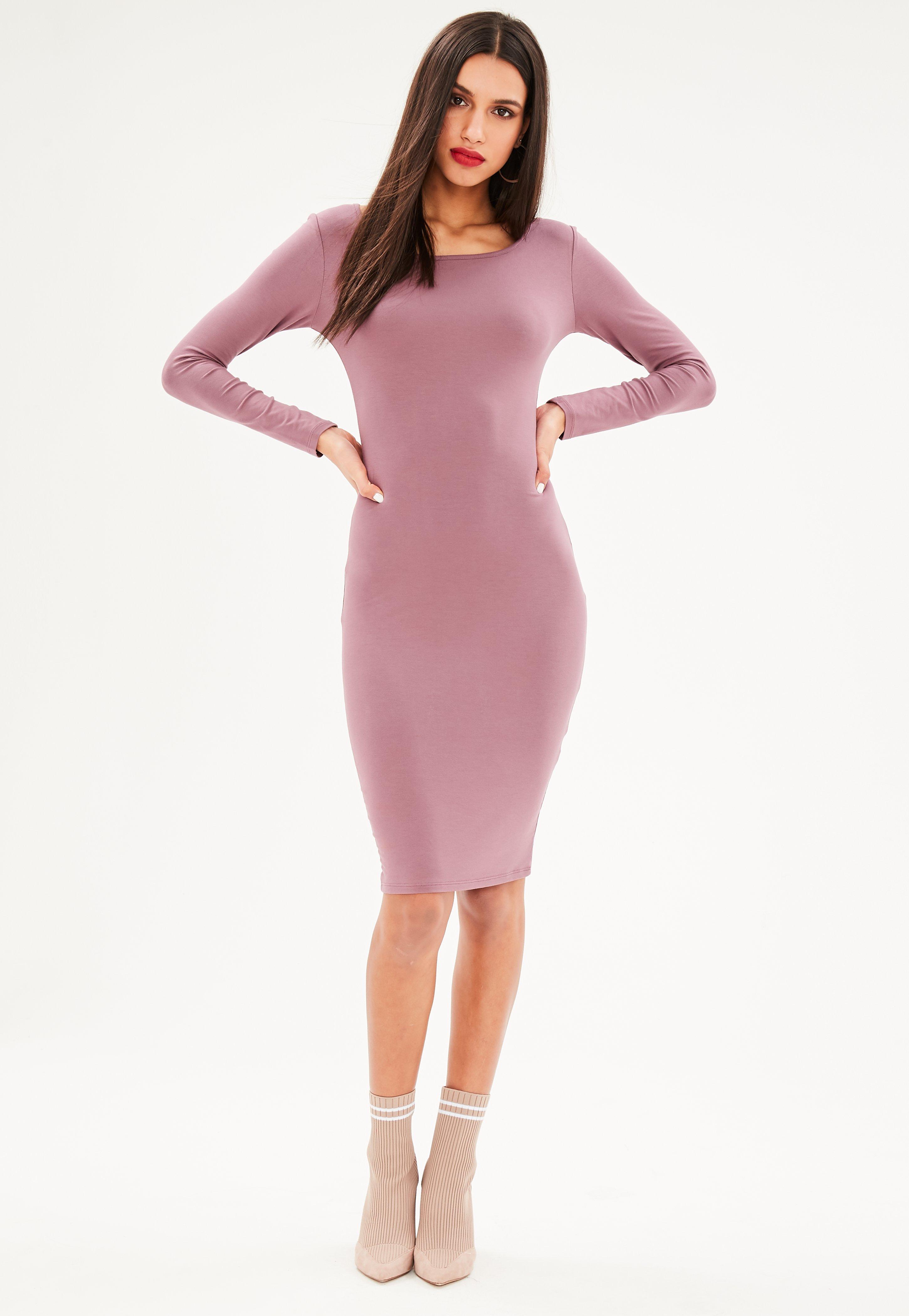 Purple Dresses | Mauve & Lilac Dresses - Missguided