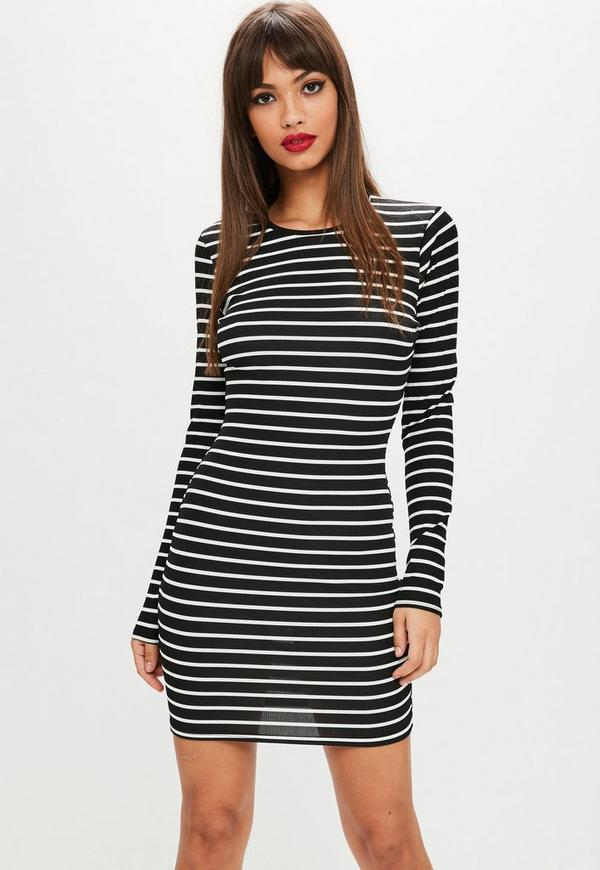 Subscriptions online new look striped bodycon dress california