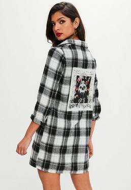 T Shirt Dresses Printed Amp Slogan Dresses Missguided
