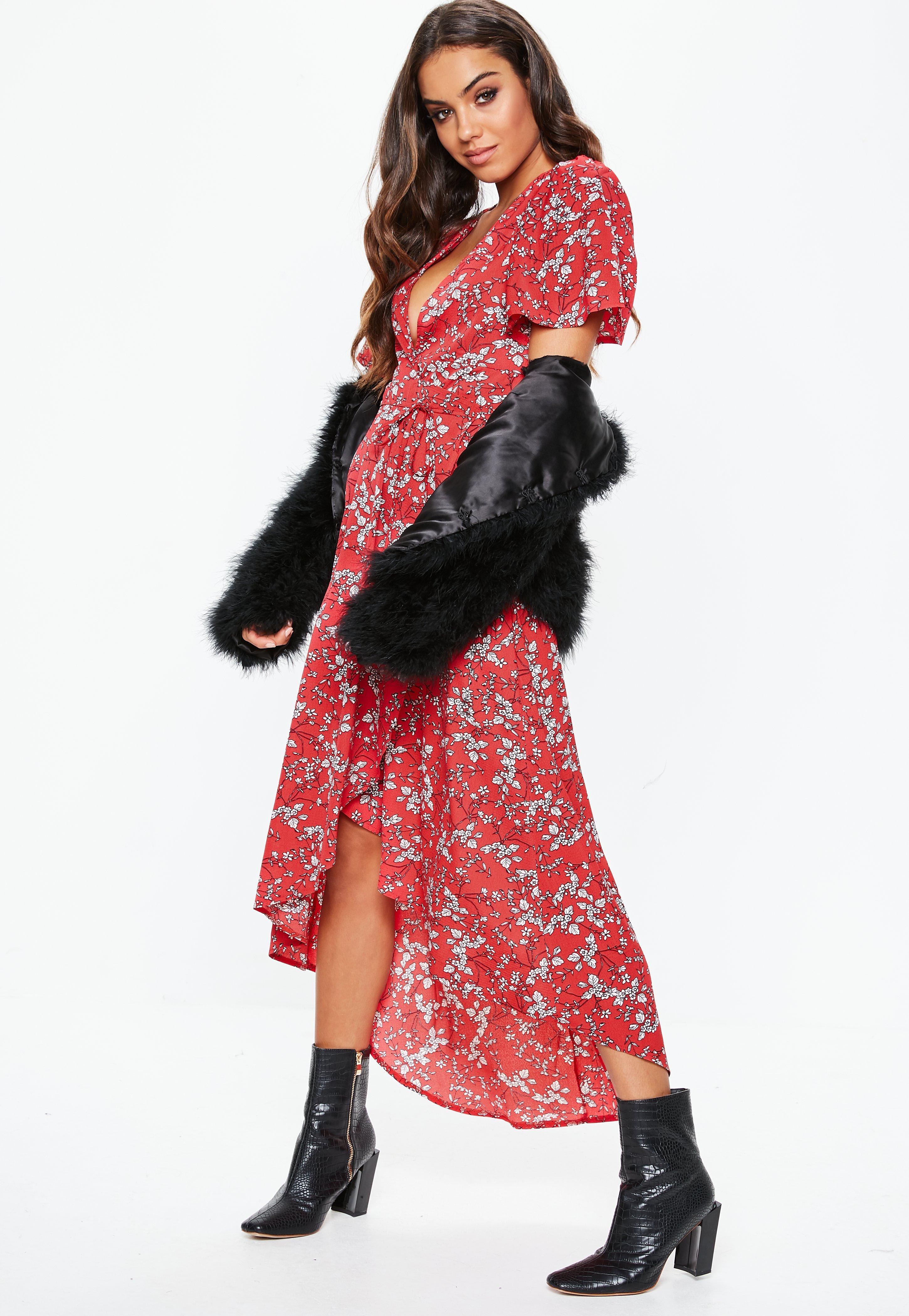 Vestidos midi | Vestidos por la rodilla - Missguided