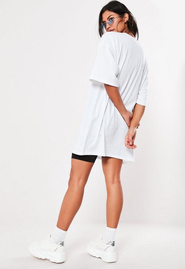White Oversized Slogan Lemon T Shirt Dress. Previous Next f5d5e80a4