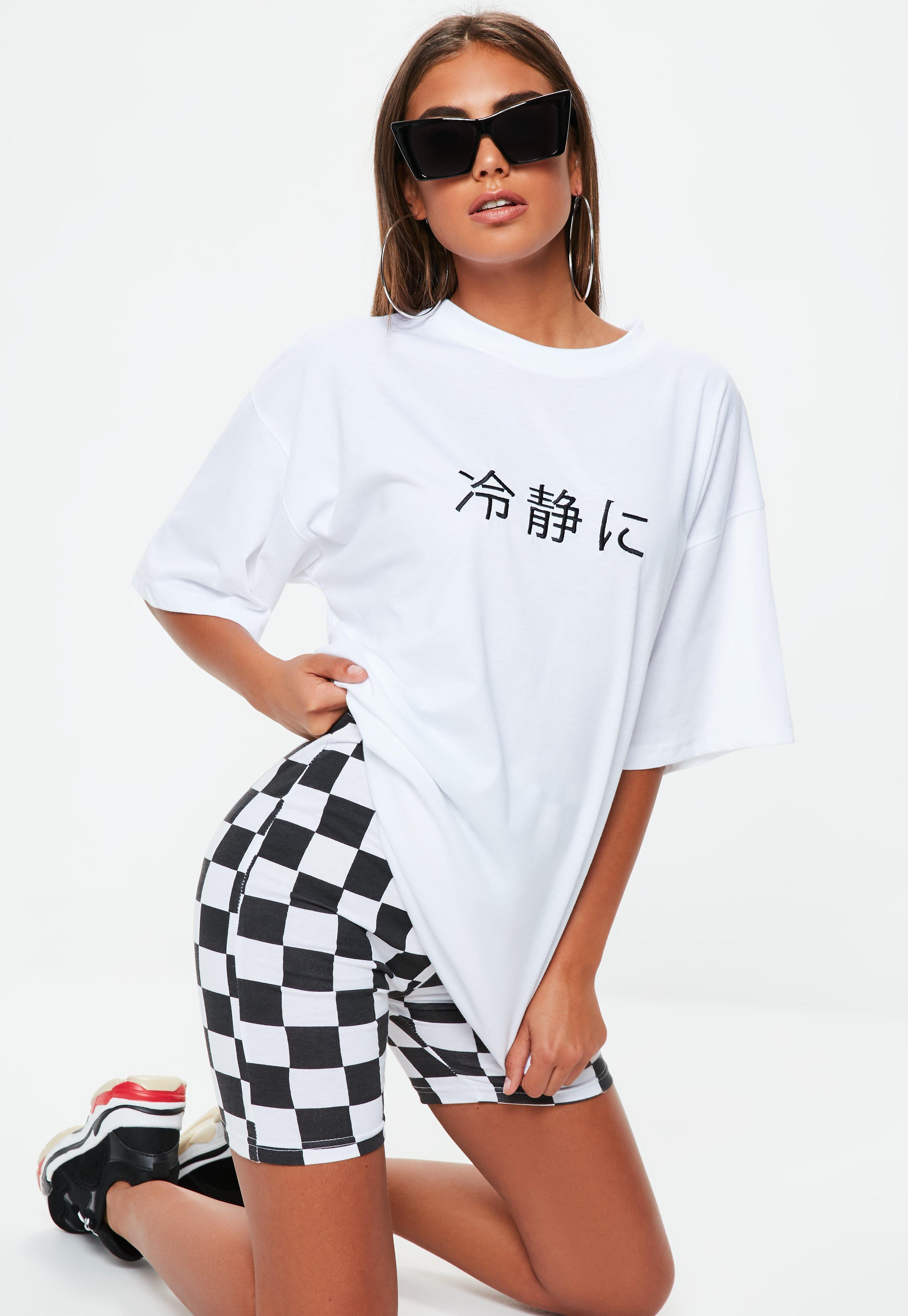 Red Pre Order Eastbay Missguided Oriental Slogan Oversized T Shirt Dress Shop Your Own Best Store To Get Buy Cheap Footlocker Clearance For Sale ZJ0LXJFORp
