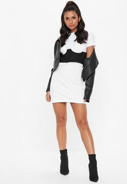 fba5dc84 T-Shirt Dresses | Printed & Slogan Dresses - Missguided