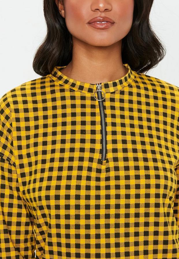 Missguided - Oversized Zip Front Shirt Dress - 3