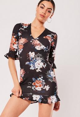 a7c502271f Deep V Neck Dress - Plunging Neckline Dresses