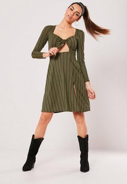 18b7dd568a Stripe Dresses · Long Sleeve Dresses