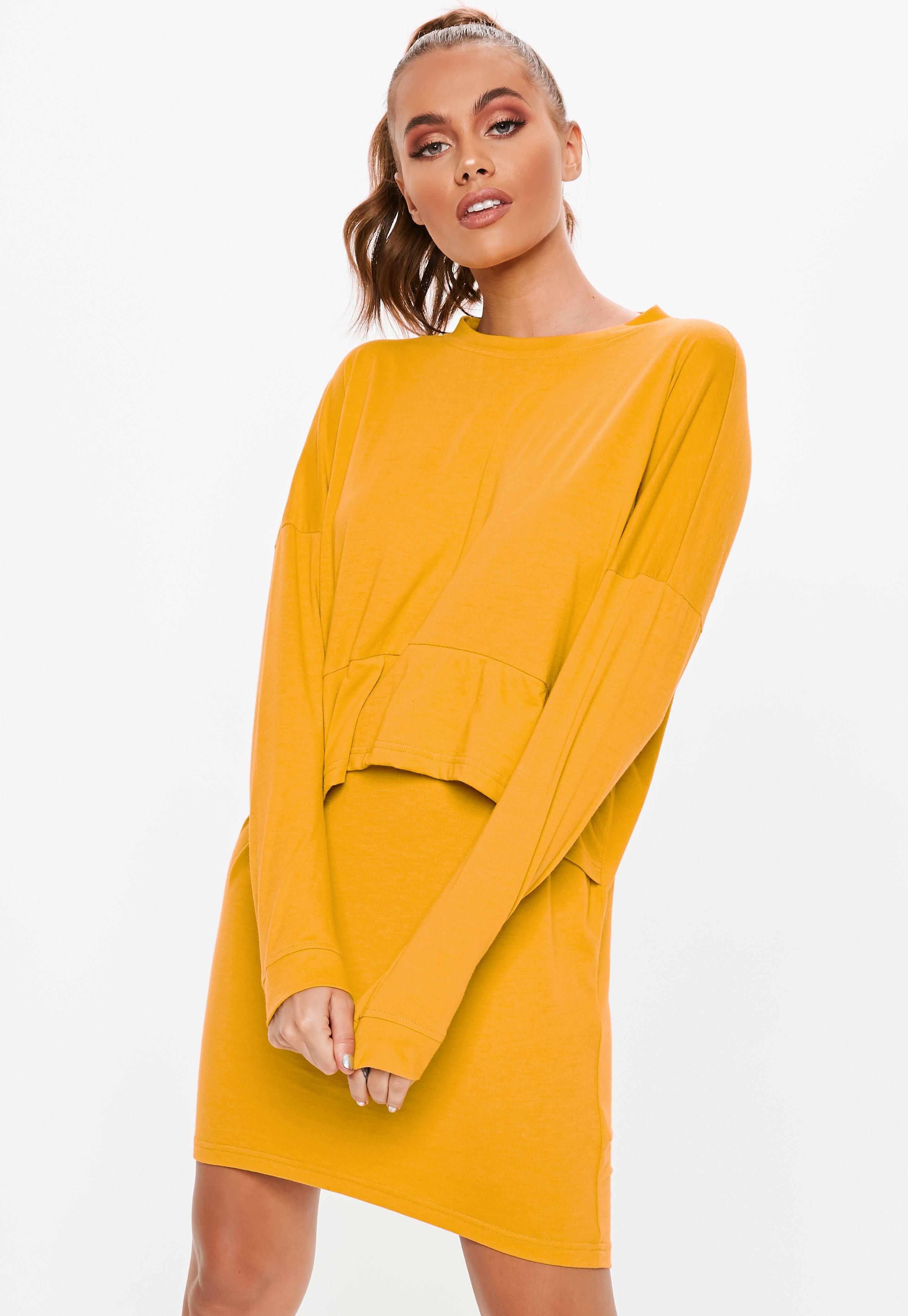 Yellow Dresses Mustard Lemon Dresses Missguided