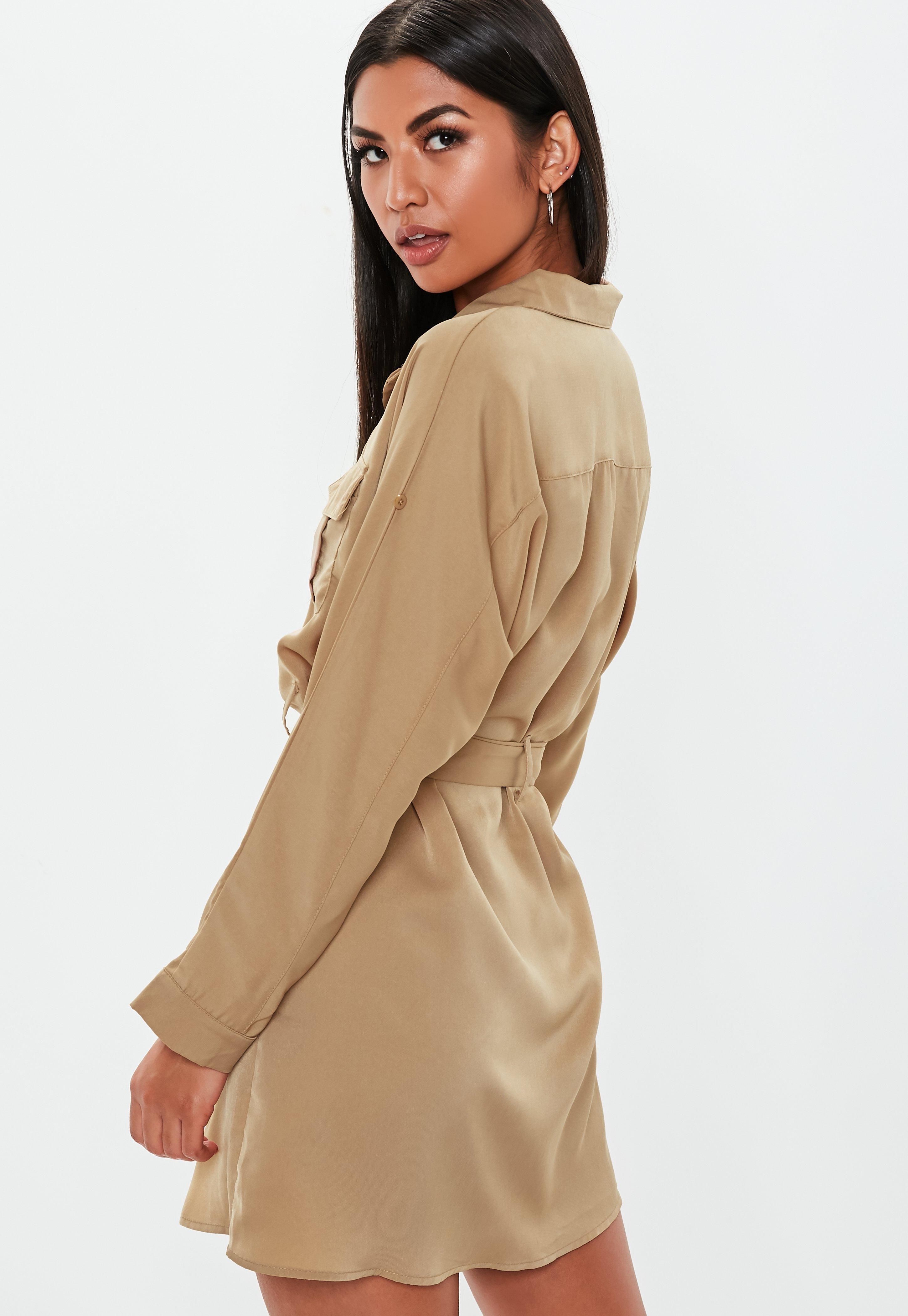 Orange Belted Bardot Bodycon Mini Dress | Missguided Australia