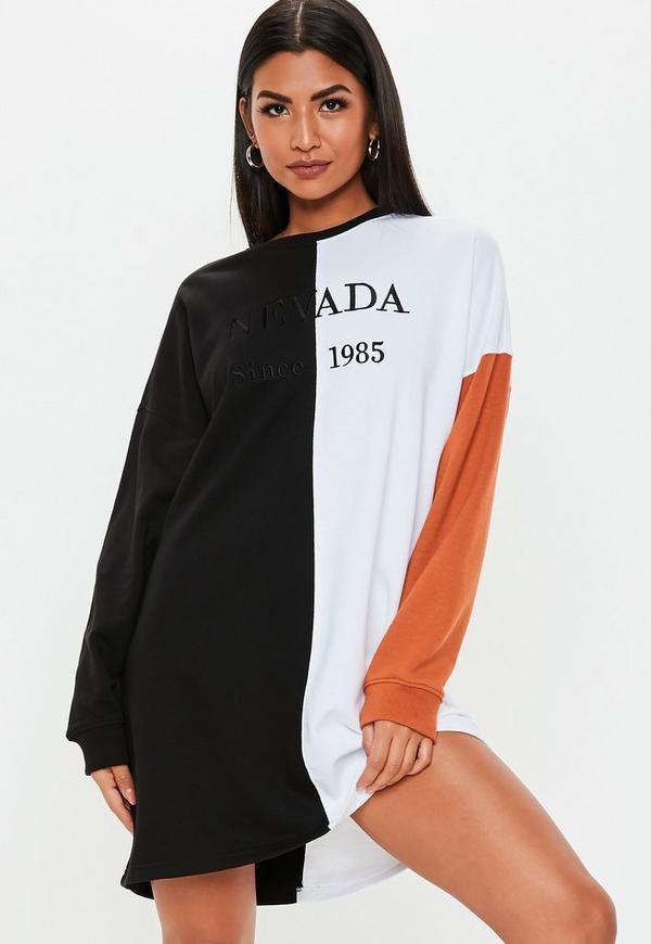 3506f5c6f73 rust oversized nevada sweater dress.  50.00 · Cream Teddy High Neck Cropped  Sweatshirt