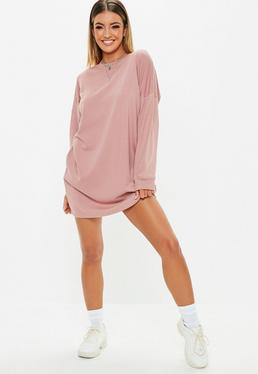 db97439ec24 ... Rose Oversized Sweater Dress
