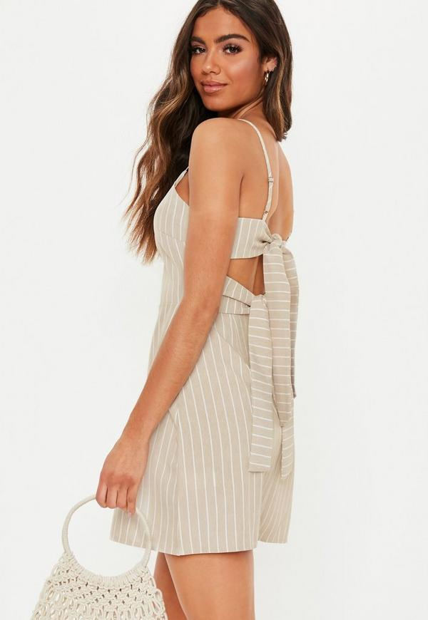 72ae7ef2b5 Mustard Crepe Cami Shift Dress | Missguided Australia