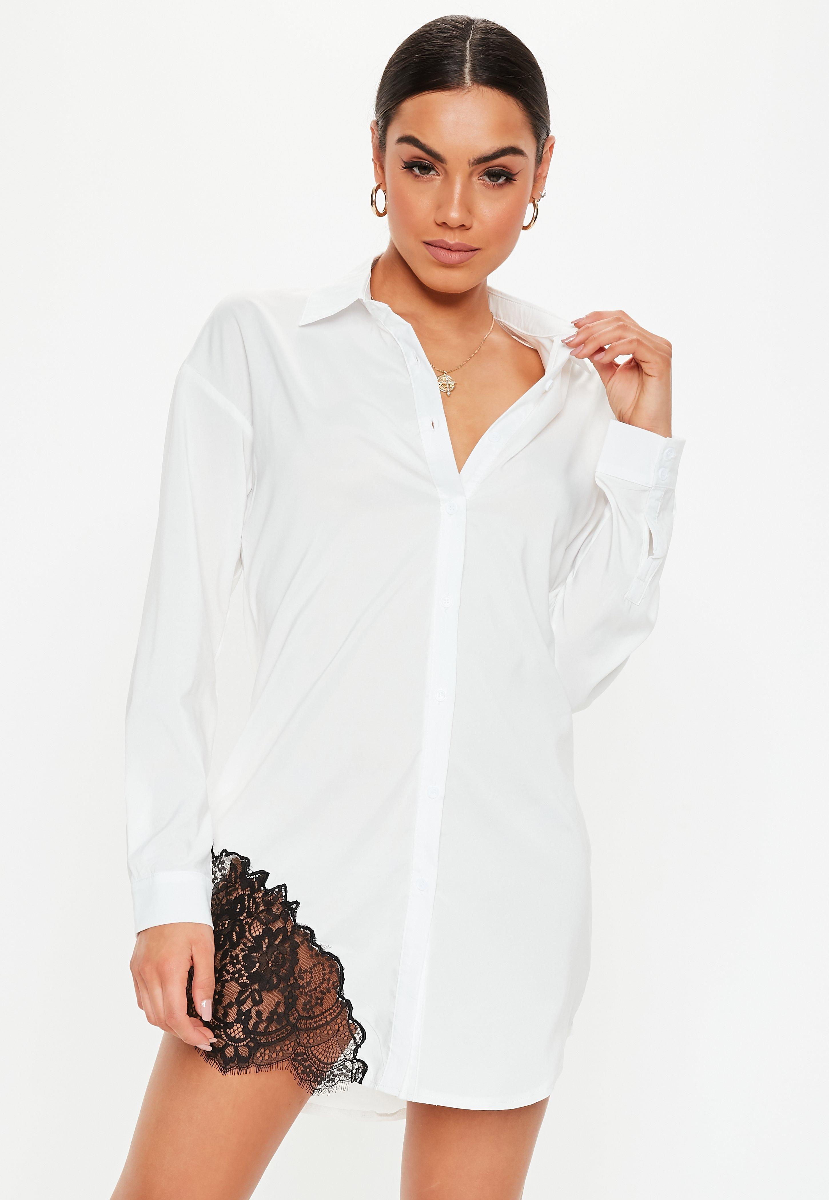 08c9b7f2b17b Robe-chemise   Robe-chemisier femme - Missguided