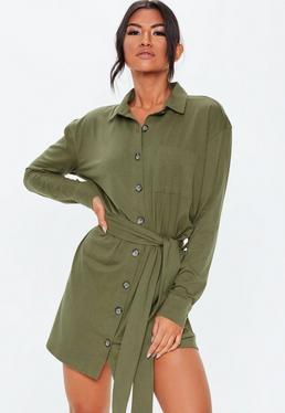 Shirt Dresses Long Short Sleeve Shirt Dresses Missguided