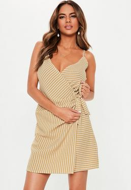 132368194fe Mustard Dresses · Strappy Dresses