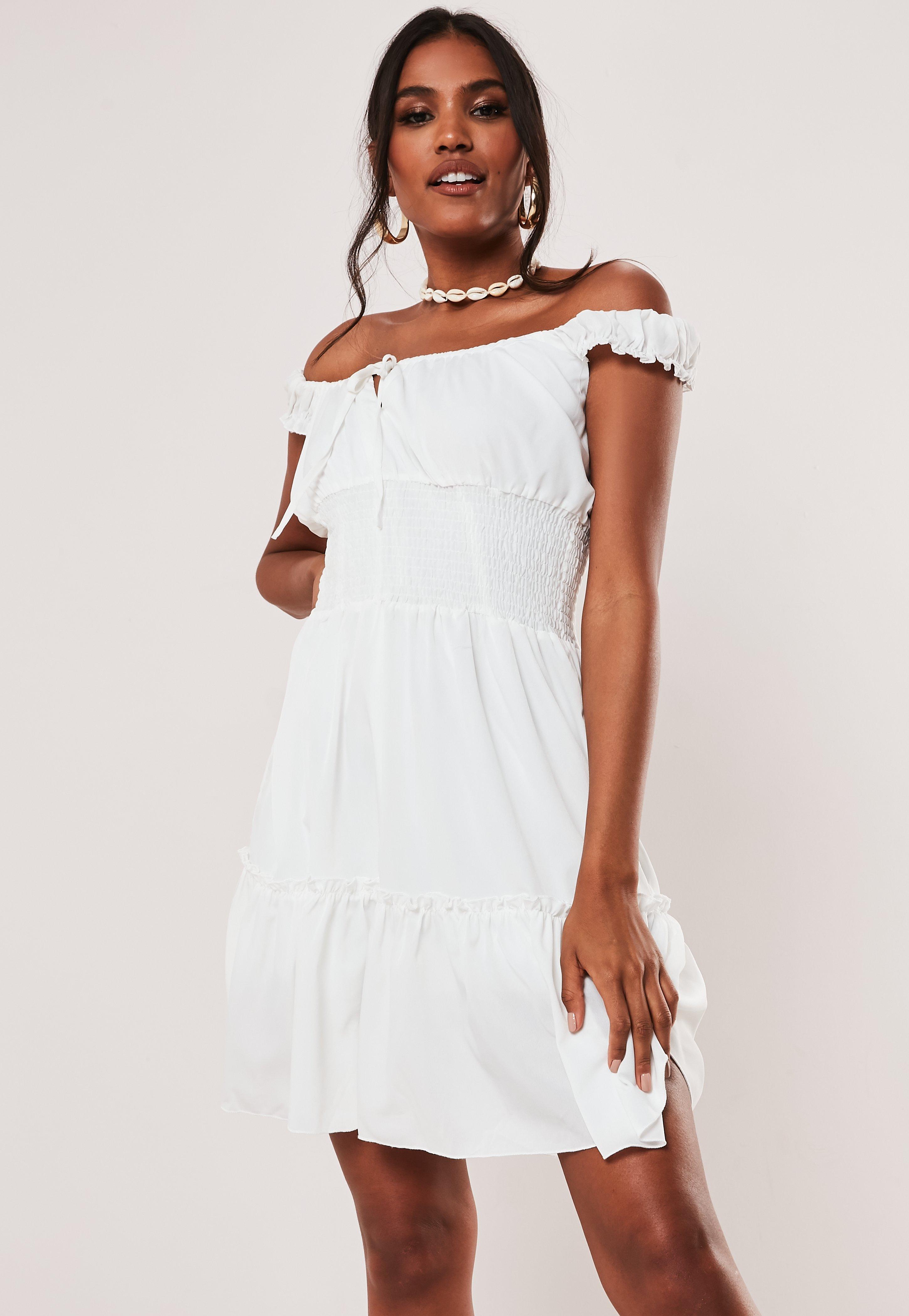 3e6ec10a89e1 White Dresses | Women's White Dresses Online - Missguided